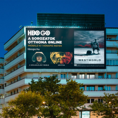 HBO GO print campaign